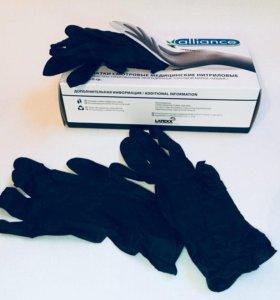 Нитриловые перчатки (смотровые)