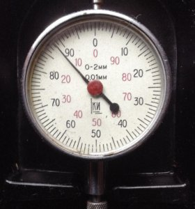 Индикатор часового типа ИЧ 0-2, кл. 1
