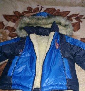 Курточка на овчине