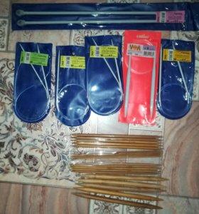 Спицы для вязания разные