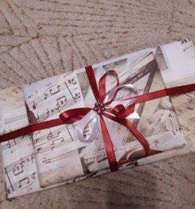 Подарок, чай, конфеты