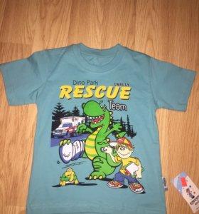 Новая футболка ( 100% хлопок)