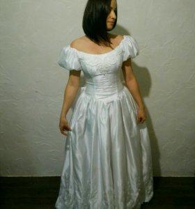 Платье свадебное, бальное, принцессы, новое