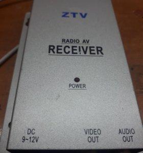 ZTV radio av recever