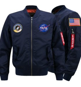 "куртка мужская ""pilot nasa"""