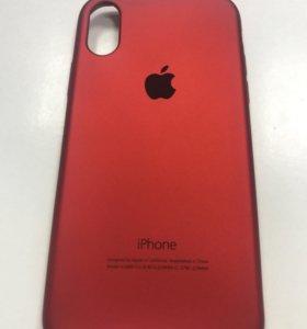 Чехол силиконовый на iPhone 10 / X