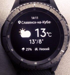 Новые Умные часы Samsung Gear S3 frontier