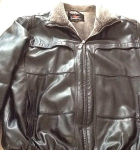 Куртка мужская коженная