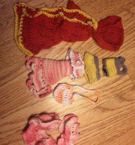 Одежда ( вязанная ) для кукол