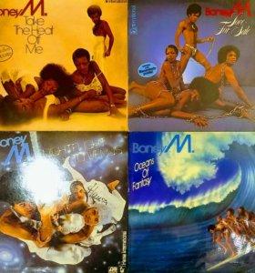 Пластинки Boney M.