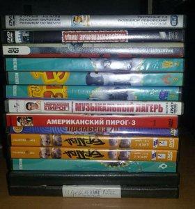 коробки для дисков DVD