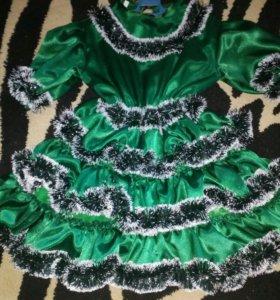 Платье новогоднее.