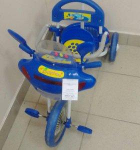 Детский велосипед dolphin