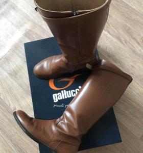 Сапоги кожаные Gallucci(Италия)