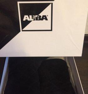 Сапоги зимние Alba натуральная замша