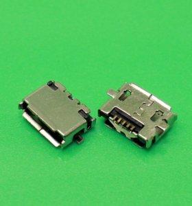 Разъем зарядки Nokia E7-00 (microUSB 5pin)