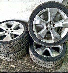 Штатные диски Subaru Forester R17