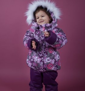 Зимний костюм Новый мембранный на девочку