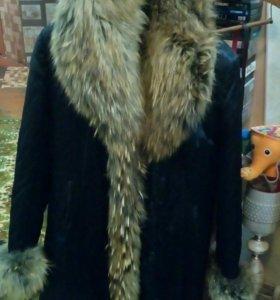 Пальто зимнее состояние отличное. Мало ношено