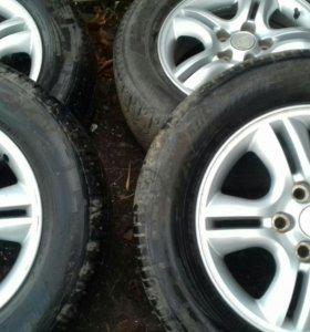 Комплект колес 235.60р16киа спортейдж