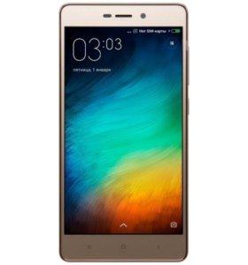 Продаю смартфон Xiaomi redmi 3s 16gb Gold