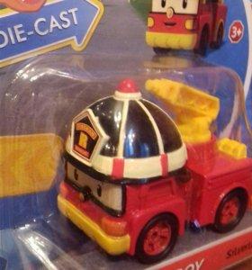 Машинки Robokar Poli новые игрушки