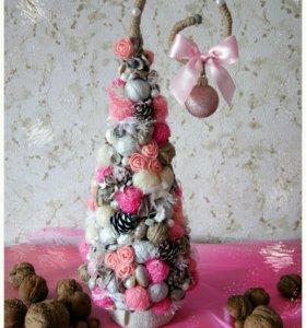 Ёлочка, подарки, handmade
