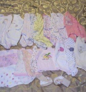 Одежда для девочки пакетом р.62