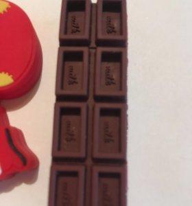 Флешка шоколадка 8 гб
