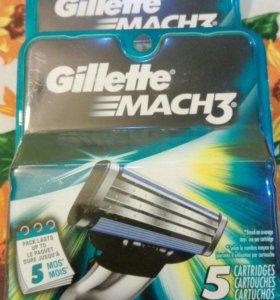 Gillette Mach 3 (5 шт.)