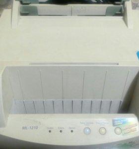 Принтер лазерный samsung ML-1210