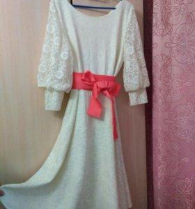Вечернее праздничное (можно свадебное) платье
