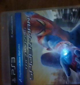диск на PS3 человек паук