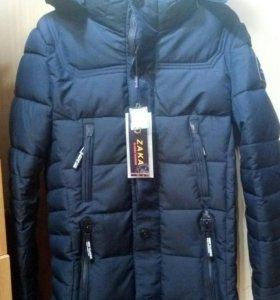 НОВАЯ! Мужская зимняя куртка на подростка