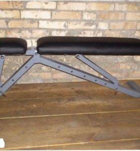 атлетическая скамья для штанги и гантелей zxc7
