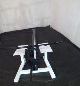 свободные веса на тренажере Т-образная тяга trh85