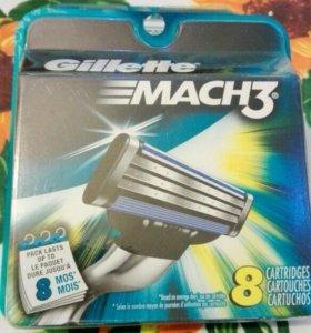 Gillette Mach 3 (8 шт.)