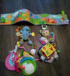 Развивающие мягкие игрушки пакетом