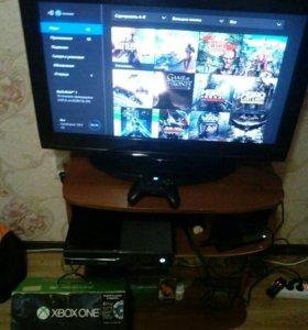 Xbox one в отличном состоянии с играми