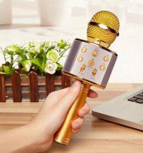 Караоке Микрофон Wster WS-858+бесплатная доставка