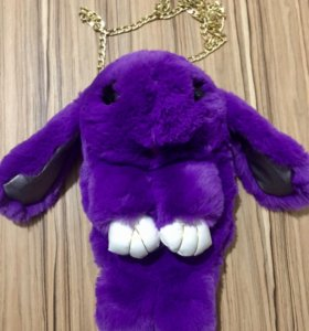 Кролик сумка меховой