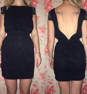 Маленькое чёрное платье расшитое бисером