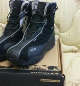 Новые 44 eur длина стел 28 Зимние Ботинки Salomon