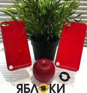 Чехол для iPhone красный