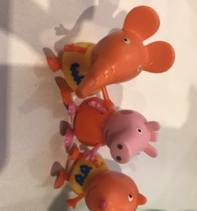 "Игрушки из мультика ""свинка пеппа"""