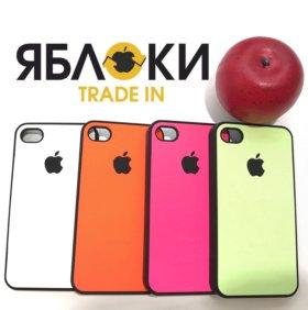 Чехол для iPhone неоновый