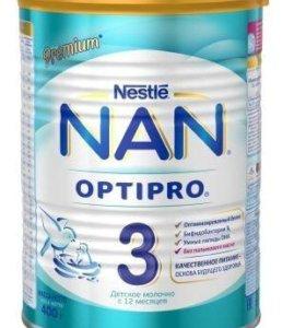 Нан молочко 3