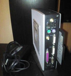 Тонкий клиент от HP T510. Мини блок.