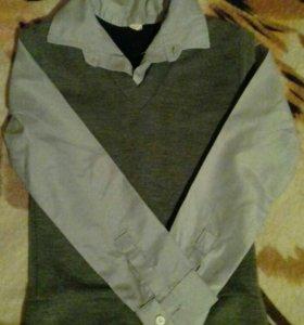 Рубашка-желетка