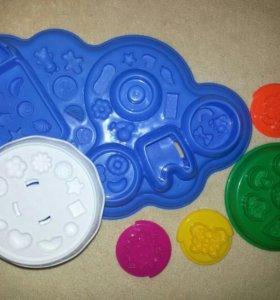 Формы для лепки из пластилина
